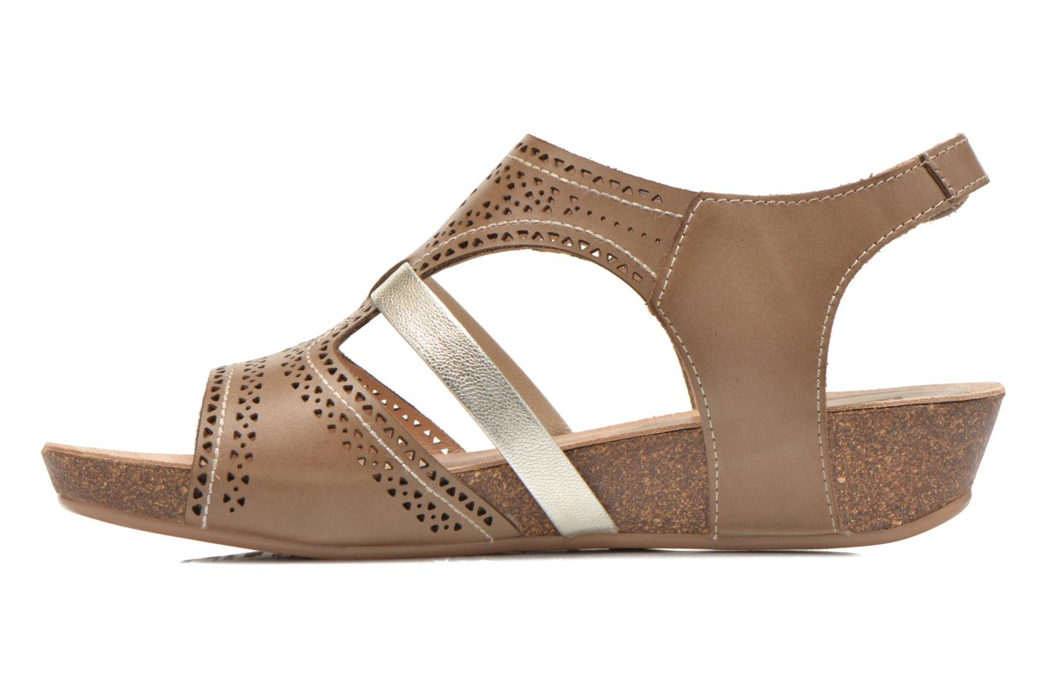 Sandals Pikolinos RENNES 931-7471A Green front view