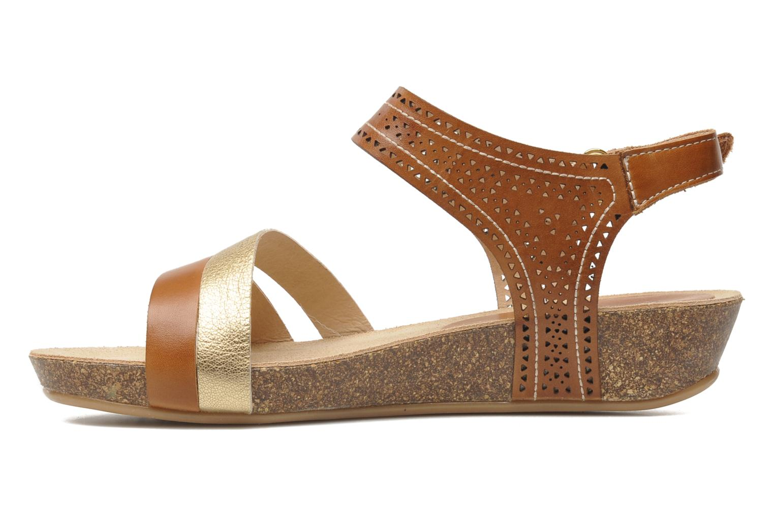 Sandals Pikolinos RENNES 931-7474A Brown front view