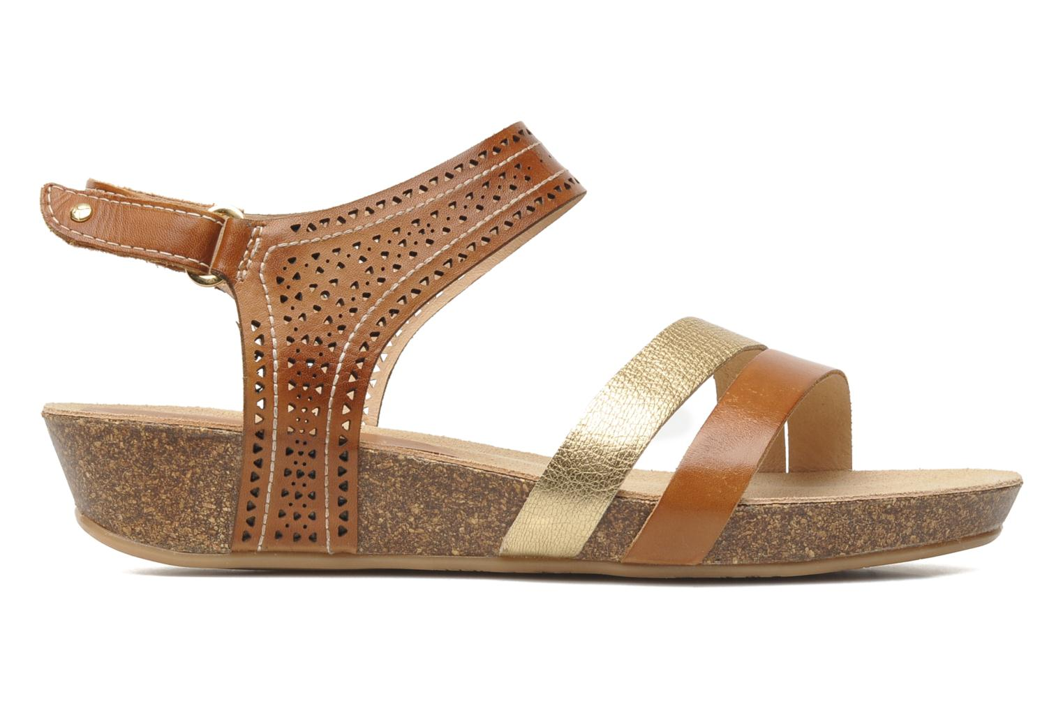 Sandals Pikolinos RENNES 931-7474A Brown back view