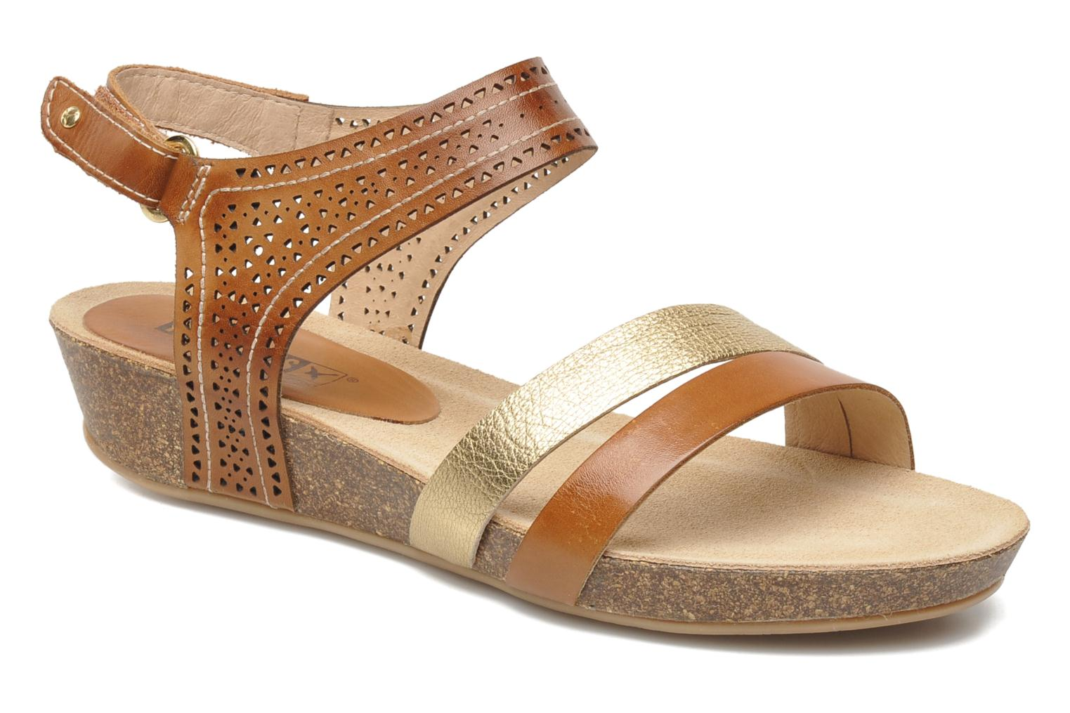 Sandals Pikolinos RENNES 931-7474A Brown detailed view/ Pair view