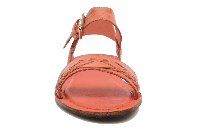 Sandales et nu-pieds Pikolinos SAN ANTONIO 941-7598N Orange vue portées chaussures