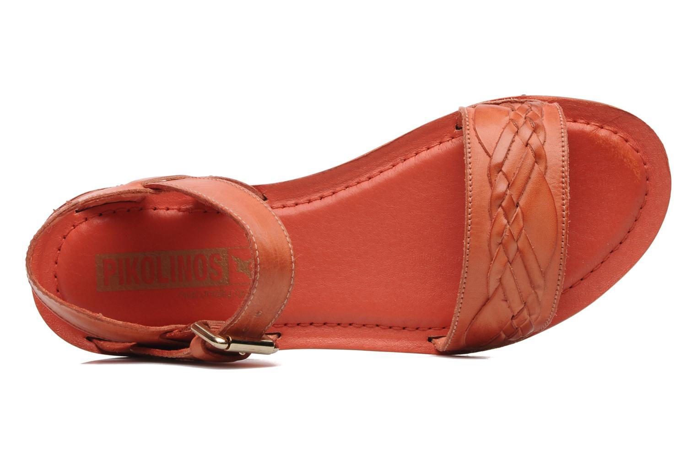 Sandales et nu-pieds Pikolinos SAN ANTONIO 941-7598N Orange vue gauche