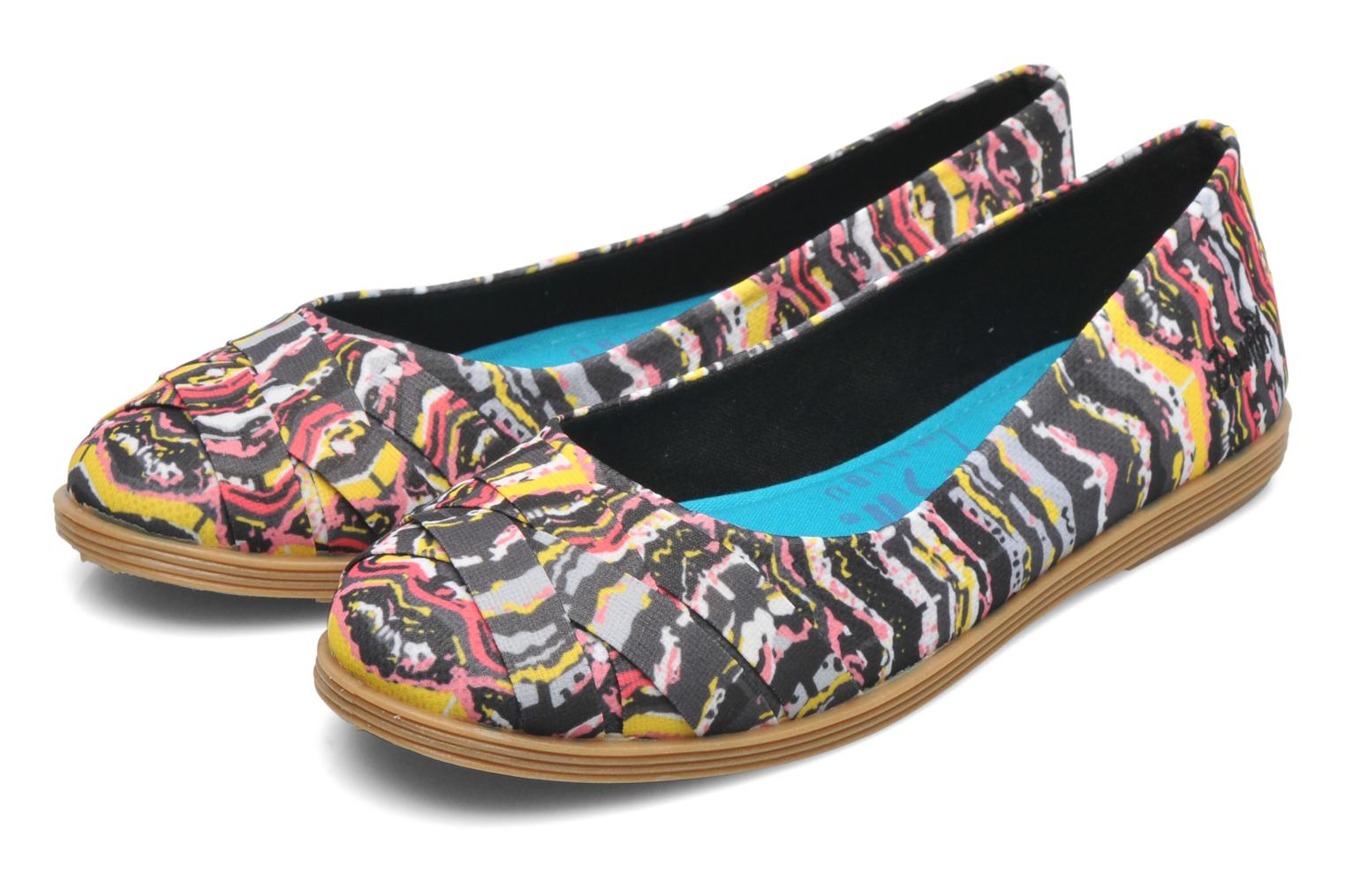 Ballerines Blowfish Glo Multicolore vue 3/4
