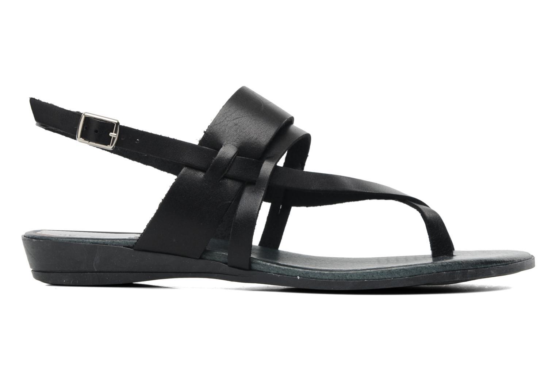 Sandales et nu-pieds Le Routard Maike Noir vue derrière