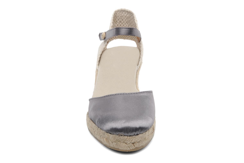 Sandalen Le Routard Marnix grau schuhe getragen