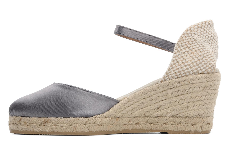 Sandales et nu-pieds Le Routard Marnix Gris vue face