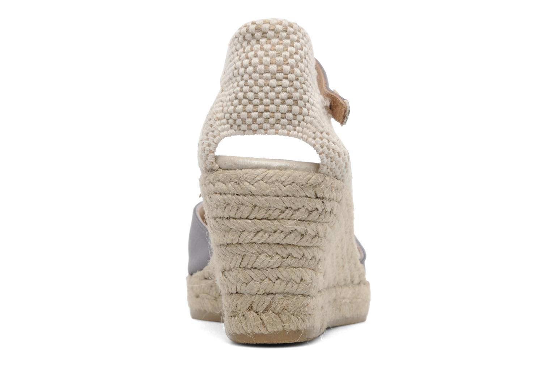 Sandales et nu-pieds Le Routard Marnix Gris vue droite