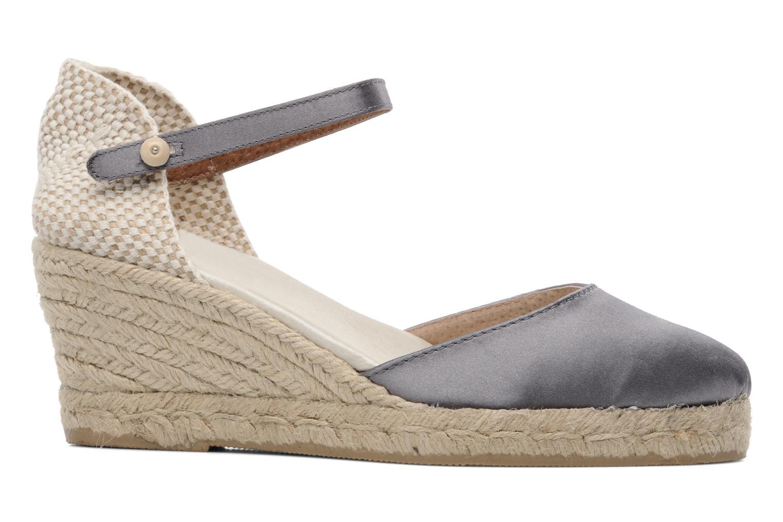 Sandales et nu-pieds Le Routard Marnix Gris vue derrière