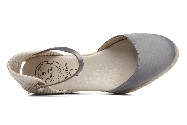 Sandales et nu-pieds Le Routard Marnix Gris vue gauche
