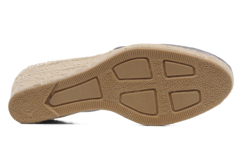 Sandales et nu-pieds Le Routard Marnix Gris vue haut