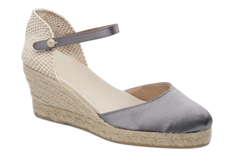 Sandales et nu-pieds Le Routard Marnix Gris vue détail/paire