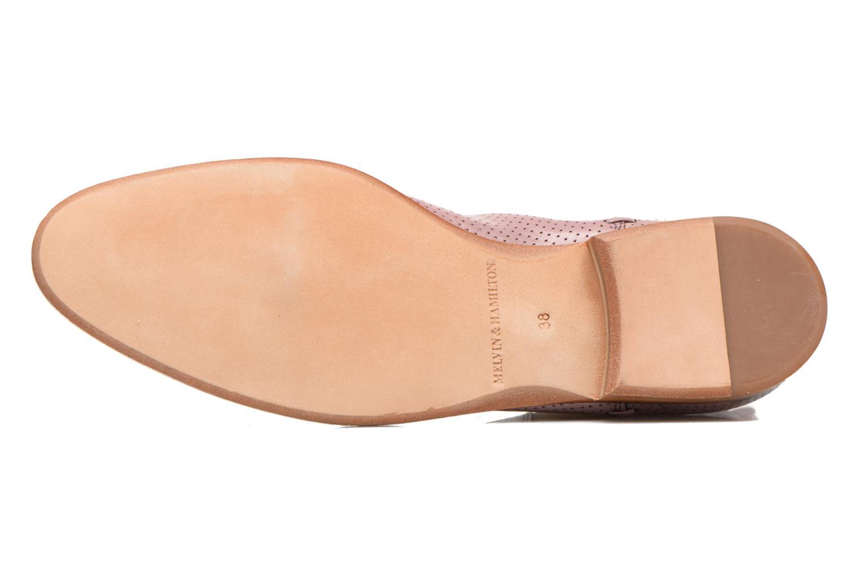 Stiefeletten & Boots Melvin & Hamilton Susan 10 rosa ansicht von oben