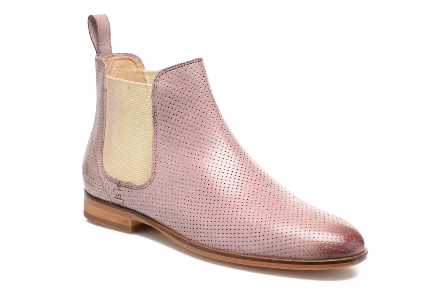 Ankle boots Melvin & Hamilton Susan 10 Pink detailed view/ Pair view