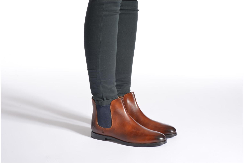 Bottines et boots Melvin & Hamilton Susan 10 Gris vue bas / vue portée sac