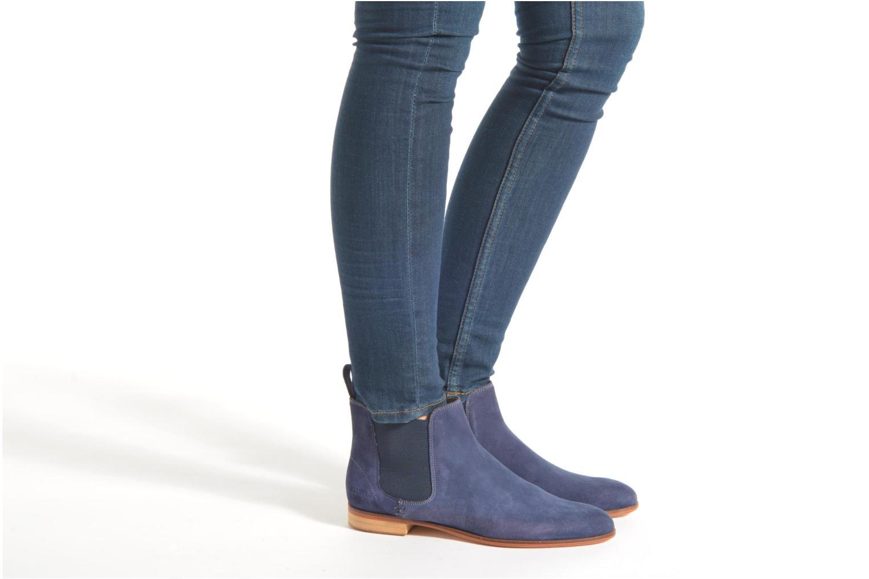 Stiefeletten & Boots Melvin & Hamilton Susan 10 rot ansicht von unten / tasche getragen