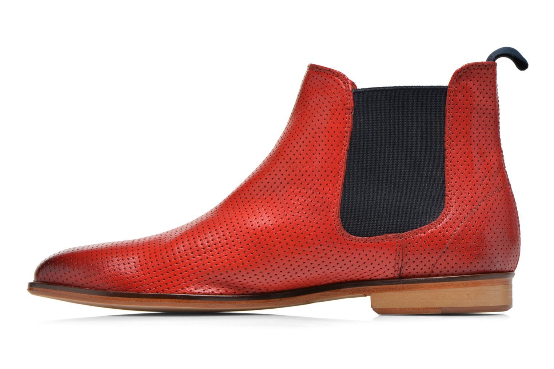 Stiefeletten & Boots Melvin & Hamilton Susan 10 rot ansicht von vorne