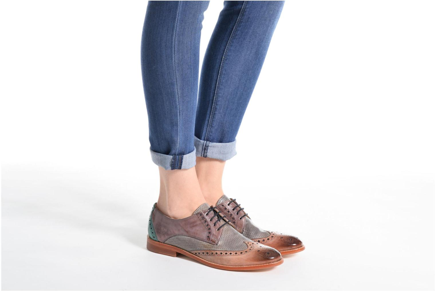 Lace-up shoes Melvin & Hamilton Amelie 3 Multicolor view from underneath / model view