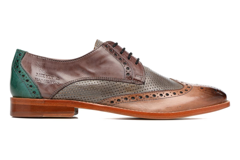 Lace-up shoes Melvin & Hamilton Amelie 3 Multicolor back view