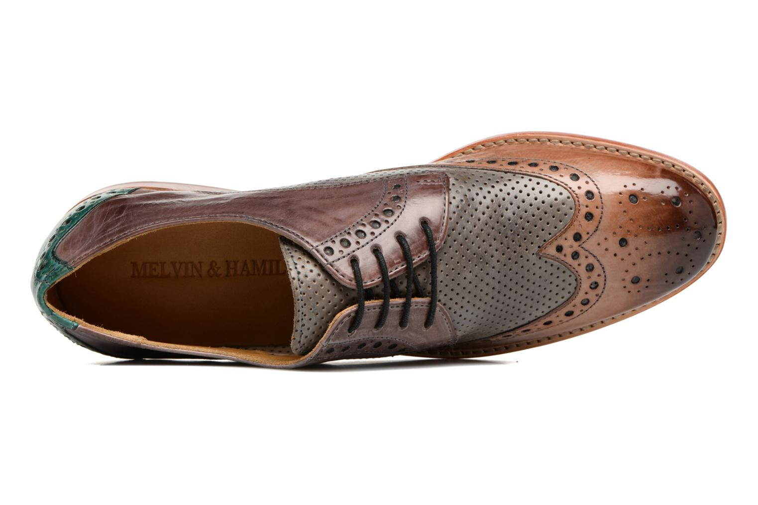 Lace-up shoes Melvin & Hamilton Amelie 3 Multicolor view from the left