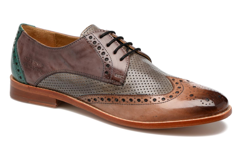Lace-up shoes Melvin & Hamilton Amelie 3 Multicolor detailed view/ Pair view