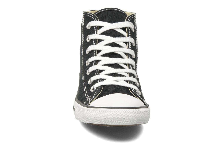 Sneaker Converse All Star Dainty Canvas Mid W schwarz schuhe getragen