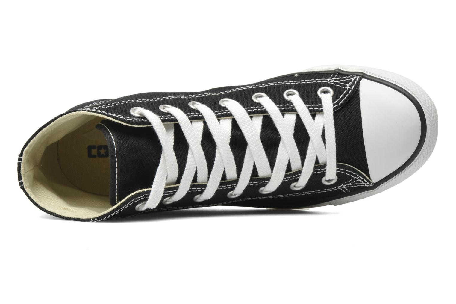 Trainers Converse All Star Dainty Canvas Mid W Black view from the left
