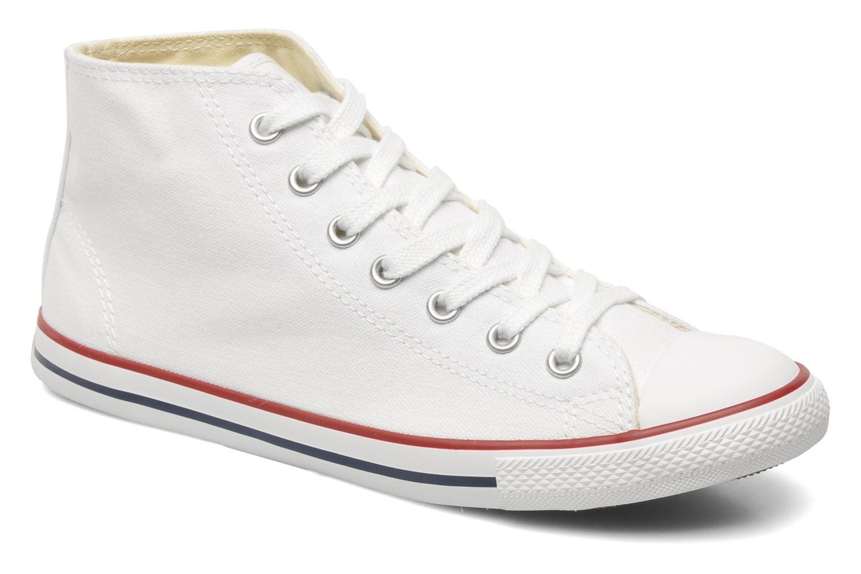 Sneakers Converse All Star Dainty Canvas Mid W Vit detaljerad bild på paret