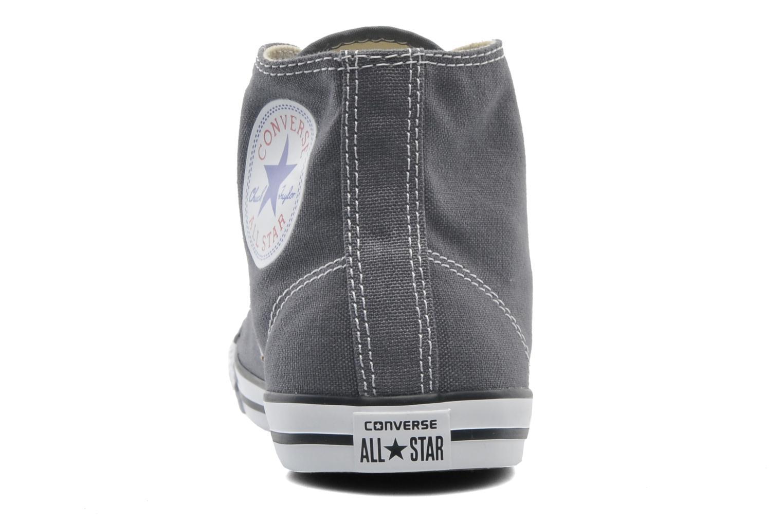 Sneaker Converse All Star Dainty Canvas Mid W grau ansicht von rechts
