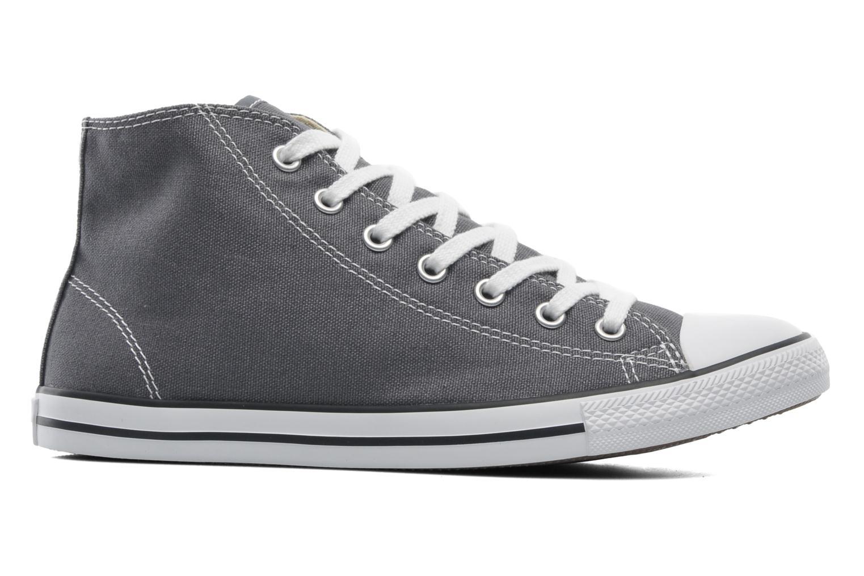 Sneaker Converse All Star Dainty Canvas Mid W grau ansicht von hinten