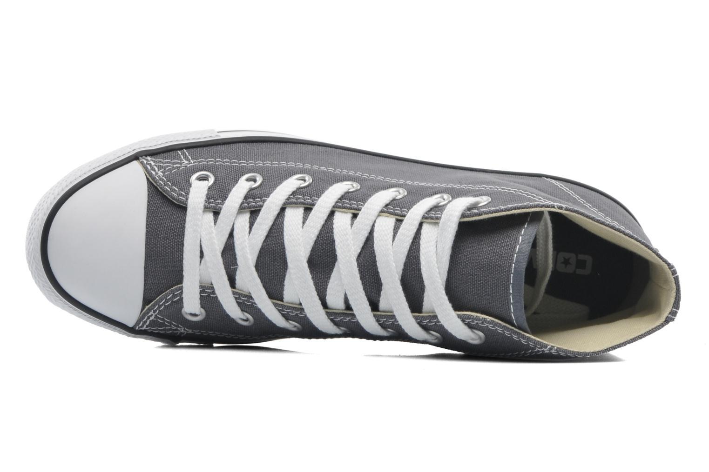 Sneaker Converse All Star Dainty Canvas Mid W grau ansicht von links