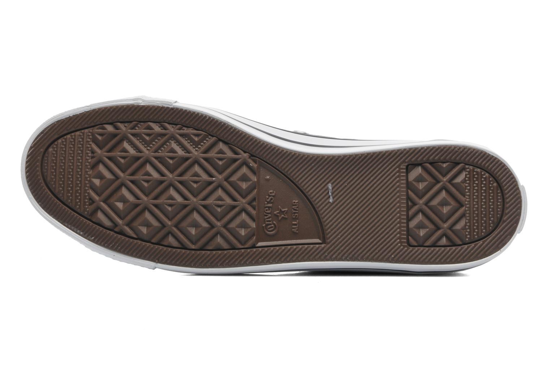 Sneaker Converse All Star Dainty Canvas Mid W grau ansicht von oben