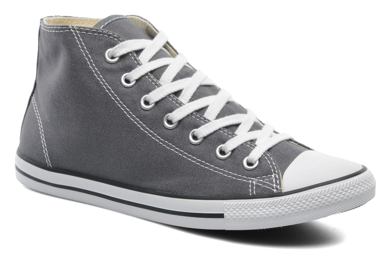 Sneaker Converse All Star Dainty Canvas Mid W grau detaillierte ansicht/modell