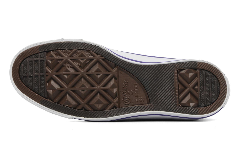 Sneaker Converse Chuck Taylor All Star Tie & Dye Hi W lila ansicht von oben