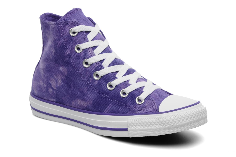 Sneaker Converse Chuck Taylor All Star Tie & Dye Hi W lila detaillierte ansicht/modell