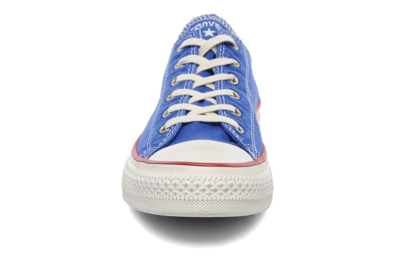 Sneaker Converse Chuck Taylor All Star Well Worn Ox W blau schuhe getragen