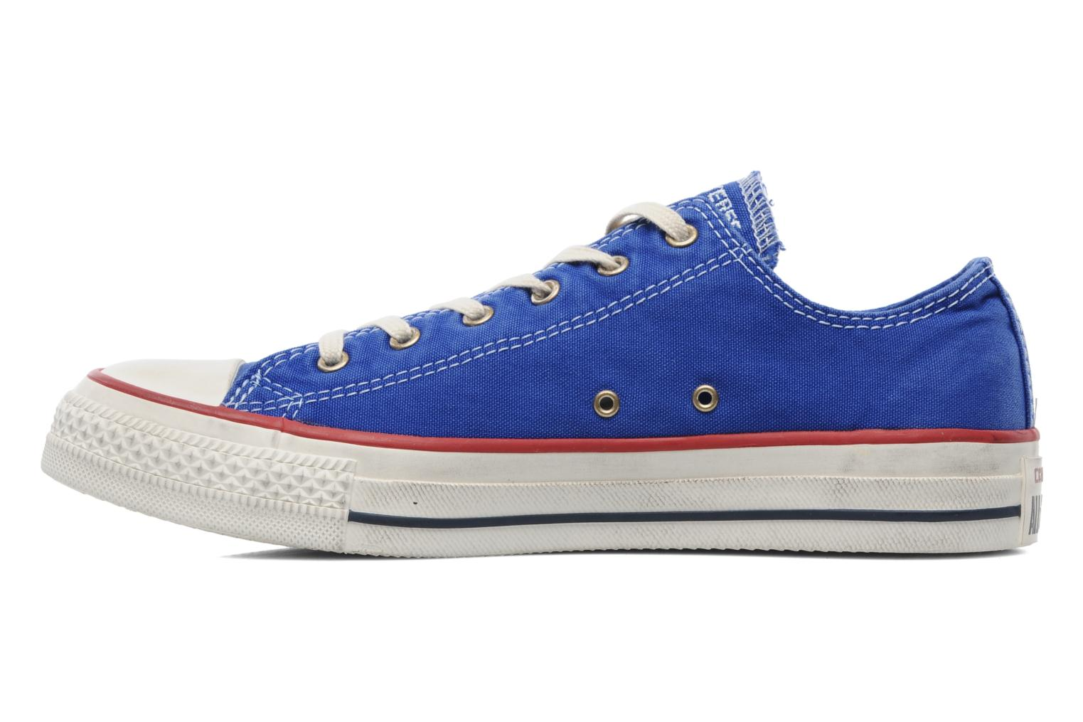 Sneakers Converse Chuck Taylor All Star Well Worn Ox W Blauw voorkant