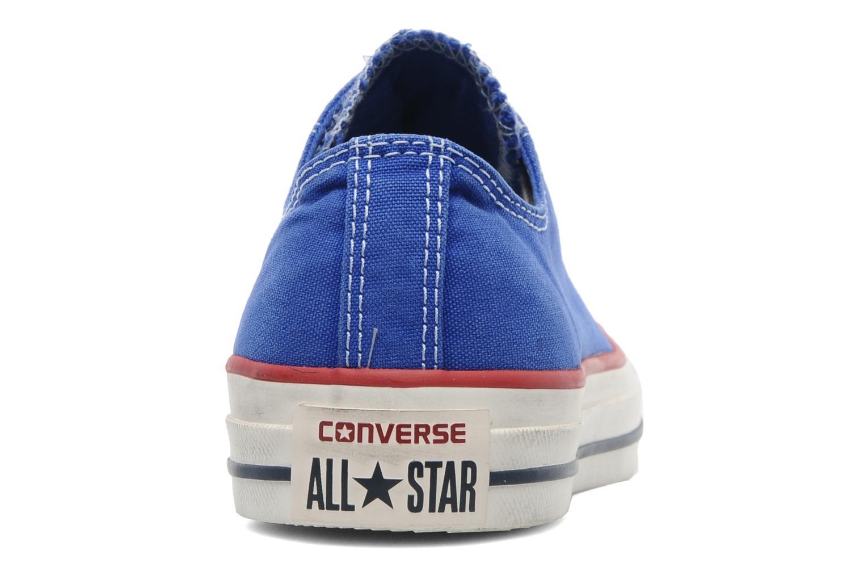 Sneaker Converse Chuck Taylor All Star Well Worn Ox W blau ansicht von rechts