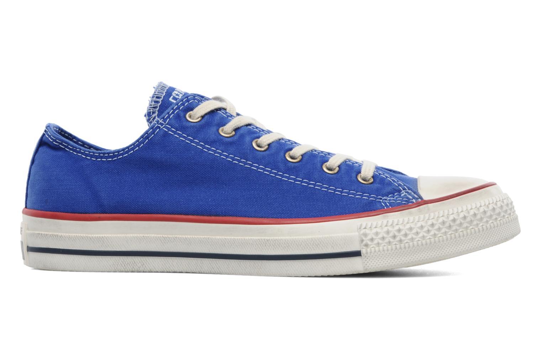 Sneaker Converse Chuck Taylor All Star Well Worn Ox W blau ansicht von hinten