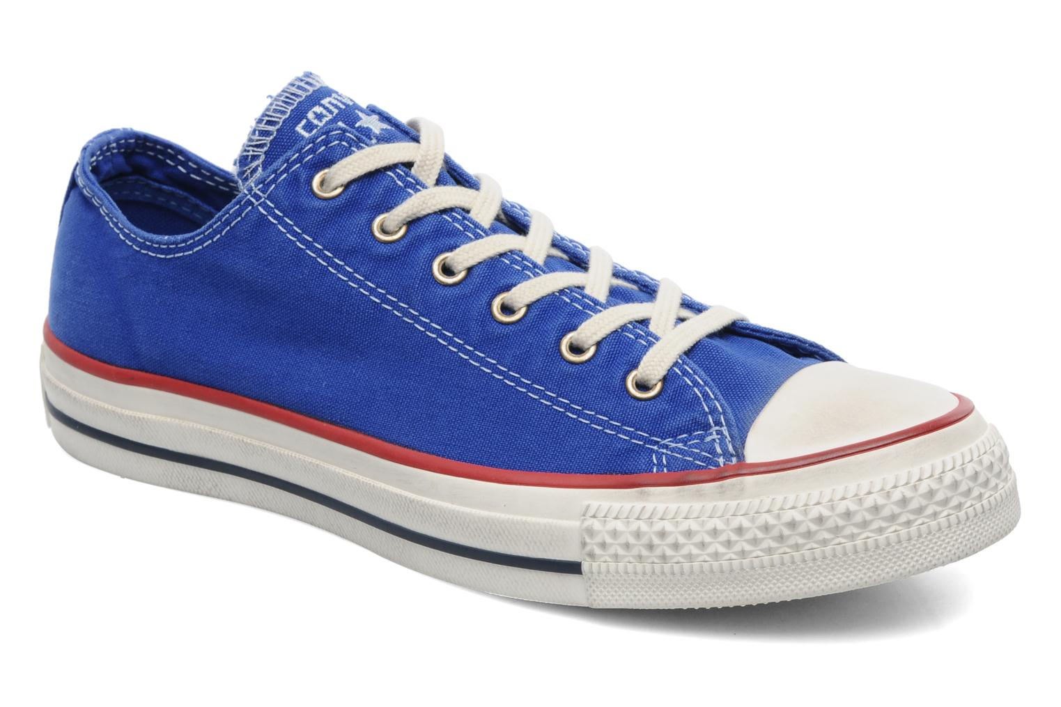 Sneakers Converse Chuck Taylor All Star Well Worn Ox W Blauw detail