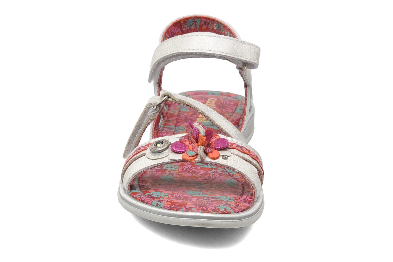 Sandales et nu-pieds Catimini CROCUS Argent vue portées chaussures