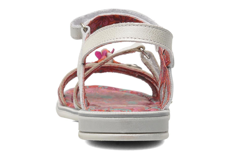 Sandales et nu-pieds Catimini CROCUS Argent vue droite
