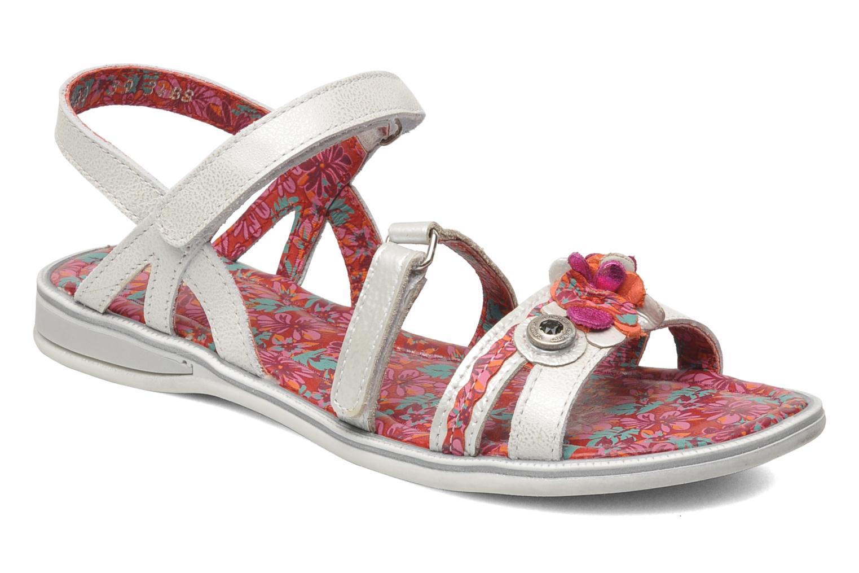 Sandales et nu-pieds Catimini CROCUS Argent vue détail/paire