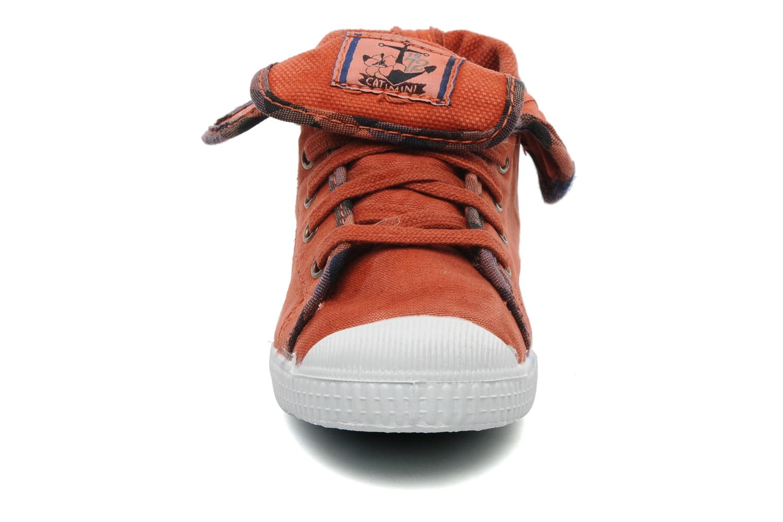 Baskets Catimini CATAROJA Orange vue portées chaussures