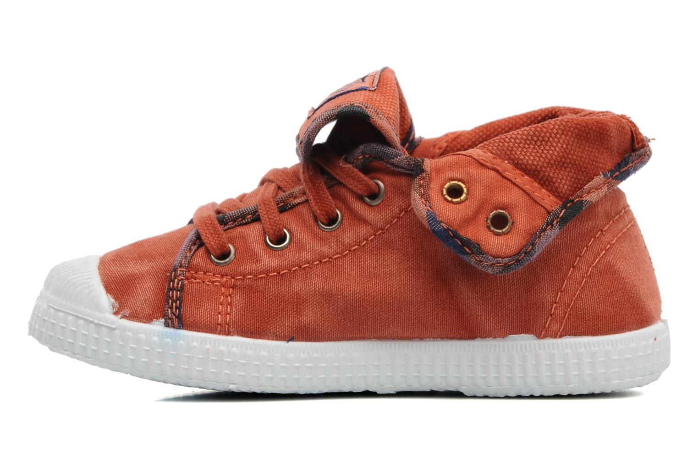Baskets Catimini CATAROJA Orange vue face