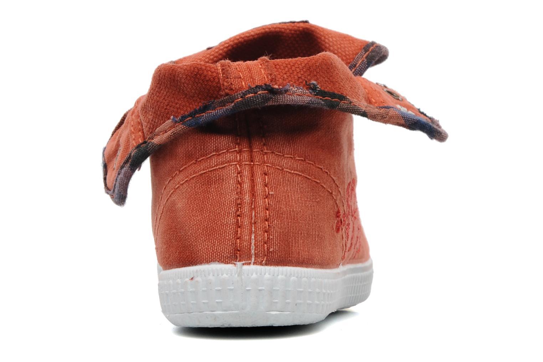 Baskets Catimini CATAROJA Orange vue droite