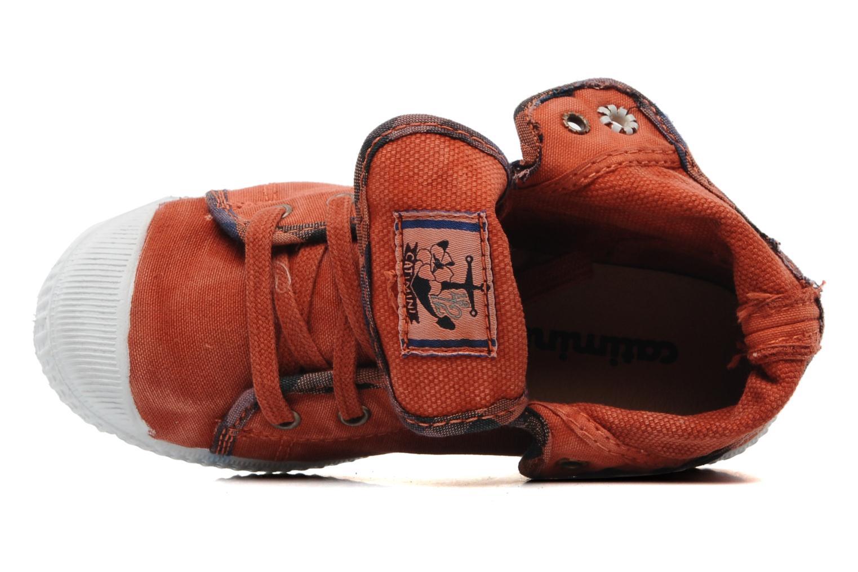 Sneaker Catimini CATAROJA orange ansicht von oben