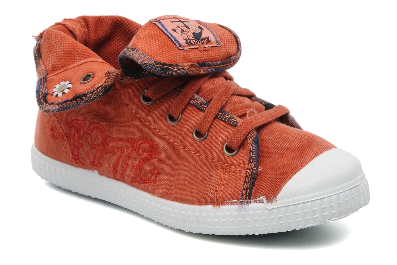 Baskets Catimini CATAROJA Orange vue détail/paire