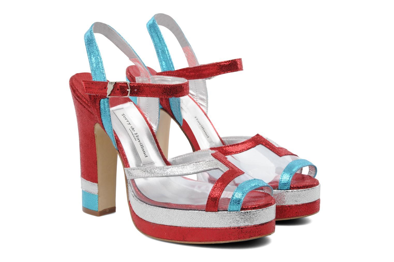 Sandales et nu-pieds Terry de Havilland Deco Multicolore vue 3/4