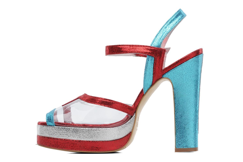 Sandales et nu-pieds Terry de Havilland Deco Multicolore vue face