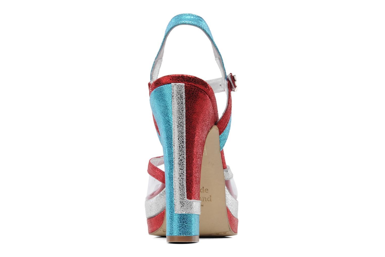 Sandales et nu-pieds Terry de Havilland Deco Multicolore vue droite